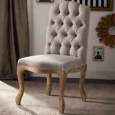 baxton studio hudson shabby chic rustic french cottage upholstered