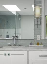 gray bathroom tiles contemporary bathroom aidan design