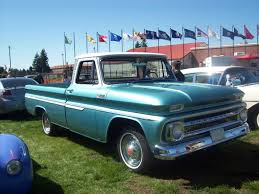 1960 Chevy Truck In Light Blue At Joint Base Lewis/McCord 4th Of ...
