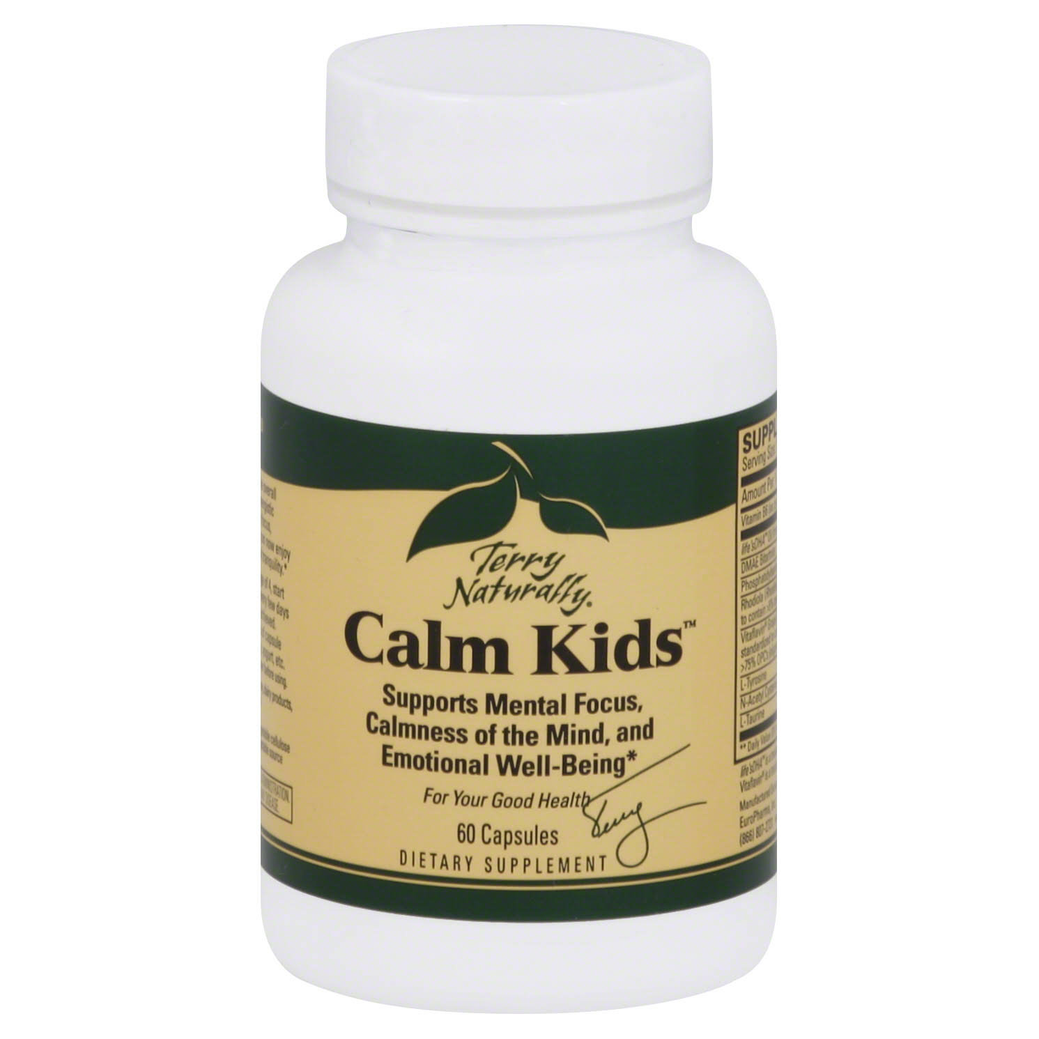 Terry Naturally Calm Kids, Capsules - 60 capsules