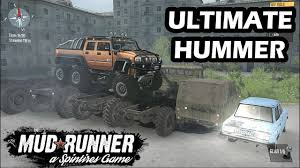 Spintires Mudrunner Ultimate Hummer H2 6x6 | Hummer H1 | New Offroad ... Ford Ultimate Truck Off Road Center Omaha Ne Madden 17 Truck Compilation Madden Montage Youtube Rhinorack Rs 2500 Roof Rack For Naked Roofs Vortex Aero Crossbars Colorado Z71 And Hurley Take Functionality To The Beach How Build Bed Camper Setup Bystep Chevygmc The Monster An Inside Look Grave Digger Diessellerz Home Amazoncom Andersen 3600 Trailer Gear Duffel Bag A Truckvault Offers In Function Convience Lmtv 1078 Stewart Stevenson Survival Machine Like