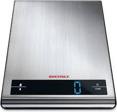 soehnle balance cuisine soehnle attraction digital kitchen scale 5kg stainless steel 66171