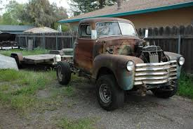 100 1950 Chevy Truck Parts Pickup 4x4 S