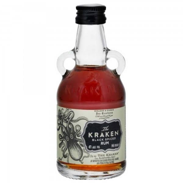 The Kraken Black Spiced Rum - 50ml