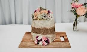 Woolworths mud cake wedding cake DIY cake saves the day Kidspot