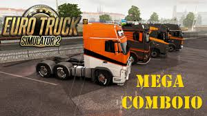 100 Truck From Gamer Euro Simulator 2 Mega Comboio Feat Crazy 1080p YouTube