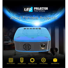 100 Bright Home Theater Projector Pocket Mini LED Projector Video Game Projector Beamer Projector Free Shipping