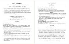 Change Of Career Resume Sample Examples For A Retail