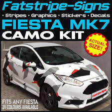FORD FIESTA MK7 GRAPHICS CAMO STICKERS DECALS BONNET ROOF CAMOUFLAGE ... Ford Lightning 2 Sticker Hot New Left Right Racing Team Auto Body Vinyl Diy 052017 Mustang Distressed Flag Trunk Lid Decal Ztr Graphicz Used Decals Stickers For Sale More Auto And Truck Herr Wwwbloodazecom Stickers Powered By Edition Decal Sticker Logo Silver Pair Other Emblems Ranger Raptor Kit Style B Set Of 2017 F150 Stx Offroad Vinyl Pickup 1pc Free Shipping Longhorn Ranger 300mm Graphic Rap002b Removable Ford Truck Classic Car 58x75cm Wall