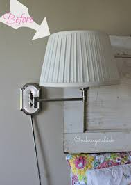 Plain Lampshade Before Makeover