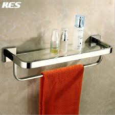 Bath Shelves With Towel Bar by Online Buy Wholesale Glass Bathroom Shelf With Towel Bar From