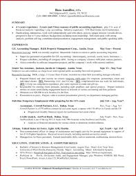 Accounting Manager Resume New Unique Intended For Examples Account