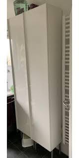 bad hochschrank ikea hochglanz weiß in 55124 mainz für