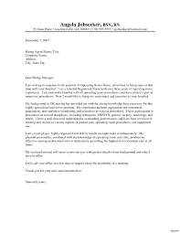 Sample Resume Cover Letter Nursing Letters For Position