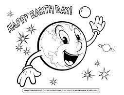 Download Or Print These Amazing Earth Day Coloring Pages