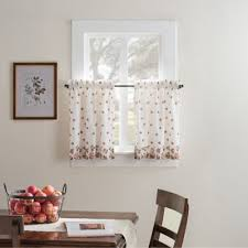 White Cotton Kitchen Curtains by Buy Cotton Kitchen Curtains From Bed Bath U0026 Beyond