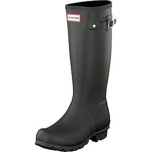 Hunter Original Kids Rain Boots - Black, 13 UK