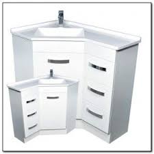 well suited design corner bathroom sink vanity cabinet and lowes