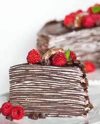 Chocolate Raspberry Crepe Cake Tatyanas Everyday Food
