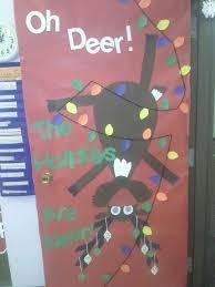 Classroom Door Christmas Decorations Pinterest by Christmas Door Decorations For Holiday Door Decoration