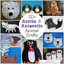 Winter Animal Crafts For Kids