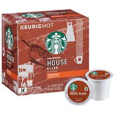 Starbucks House Blend Coffee 128 K Cup Pods