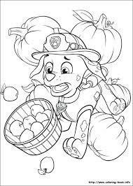Breathtaking Paw Print Coloring Page Image Patrol Printable Pages Badge Thanksgiving Kids