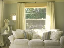 Living Room Curtain Ideas For Bay Windows by Curtains For Tall Living Room Windows Curtain Rods And Window With