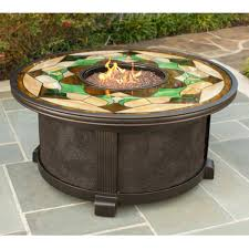 pits patio gas tile top pit table tiled square amazing