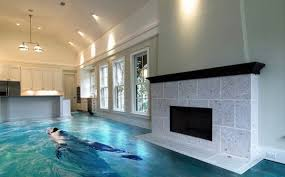 3d Epoxy Flooring Bathroom Open Floor Plan Kitchen Living Room Ideas