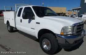 100 Utility Bed Truck For Sale 2002 D F250 Super Duty SuperCab Utility Bed Pickup Truck