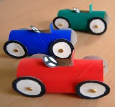 Paper Crafts Cool Car Race Using Toilet Tubes