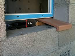 appui de fenêtre avant ou après enduit et crépi extérieur