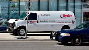 Ryder 'saddened' As Van In Toronto Collides With Pedestrians | Fox ... Nine Dead 16 Injured After Van Strikes Pedestrians On Toronto Sidewalk Ryder System R Presents At 2018 Retail Supply Chain Conference Offers Prentative Maintenance For Used Trucks Sale Shares Likely To Stay In Slow Lane Barrons Pickup Truck Rent In Ronto Authentic Wikipedia Fleet Management Solutions Products Metalweb Frhes Fleet With Dafs From Commercial Motor Search Inventory 6246871 Vintage Ertl Steel Ryder Truck Rental Toy Signs Exclusive Deal La Eleictruck Maker Chanje