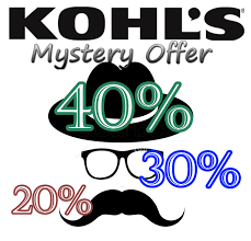 Slickdeals Exclusive: Kohl's Mystery Coupon - Slickdeals.net Kohl S In Store Coupon Laptop 133 Three Days Only Get 15 Kohls Cash For Every 48 You Spend Coupons Android Apk Download 30 Off 1800kohlscoupon Twitter Cardholders Coupon Additional Savings Codes Promo Maximum 50 Off Online And Promotions Specials Hollister Black Friday Promo Code Carnival Money Aprons Shoe Google Vitamin Shoppe Lord Taylor Deals Pin By Picoupons On Code