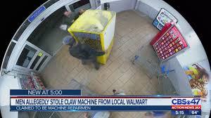 VIDEO: Men Allegedly Steal Claw Machine From St. Augustine ...