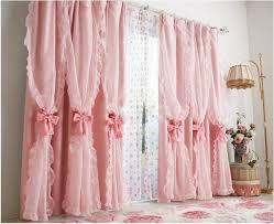rüschen rosa kidsluxury vorhänge für schlafzimmer wohnzimmer drapieren rüschen luxus vorhang fenster behandlung marke vorhänge