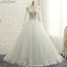 popular long sleeve corset wedding dress buy cheap long sleeve