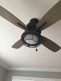 Tommy Bahama Ceiling Fans Tb344dbz by Harbor Breeze 52 In Dark Oil Rubbed Bronze Downrod Or Close Mount