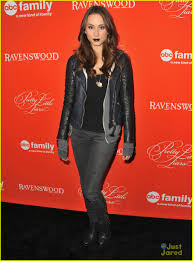 Pll Halloween Special by Troian Bellisario Black Lipstick For Pll Halloween Screening
