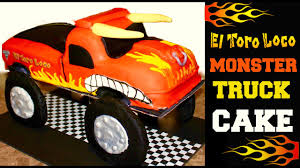 Monster Jam El Toro Loco Monster Truck Cake - YouTube Monster Truck 3rd Birthday Cake On Central Trucks In Cakes Decoration Ideas Little Spiral Everything Else Is Party Simple Practical Beautiful 2nd Graceful Flickr Tire Cakecentralcom Rees Times Truck Cake By Treyalynn Deviantart Factory Blaze The Pan Bestwtrucksnet