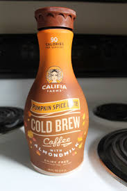 Panera Pumpkin Spice Latte Vegan by Review Califia Farms Pumpkin Spice Latte Cold Brew Coffee Fck Dairy