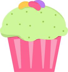 Jelly bean cupcake clip art jelly bean cupcake image