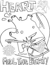 Heart Coloring Page I Guts