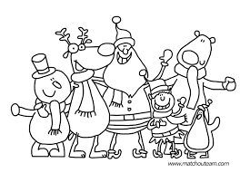 Cool Coloriage Traineau Pere Noel Coloriages à Imprimer