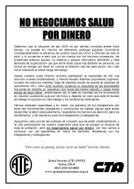 Comunicados De Prensa ATE ANSES