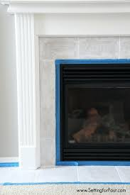 tile fireplace best fireplace tile surround ideas on white
