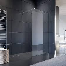 sonni duschwand glas 90 x 200 cm walk in dusche 8 mm nano