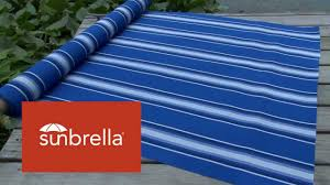 Video Of Sunbrella Pacific Blue Fancy Awning Stripes Fabric 4755 ... Sunbrella Awning Stripe 494800 Sapphire Vintage Bar 46 Fabric 494600 Blacktaupe Fancy Video Of Yellow White 6 5702 Colonnade Juniper 4856 46inch Striped And Marine Outdoor Forest Green Natural 480600 Awnings Porch Valances Home Spun Style This Awning Features Westfield Mushroom Milano Charcoal From Fabricdotcom In The