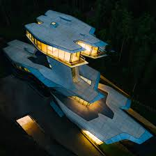 100 Capital Hill Residence Zaha Hadids Only House Finally Completes In Russian Forest